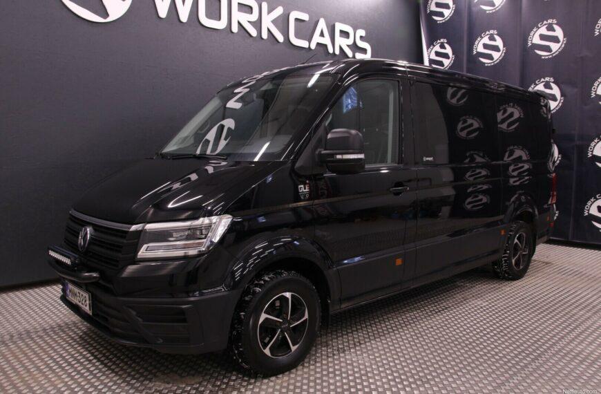 """Volkswagen Crafter 35 Carsport-esteettömät 2,0 TDI 103 kW 8at, 3640 """"City"""" vm. 2018"""
