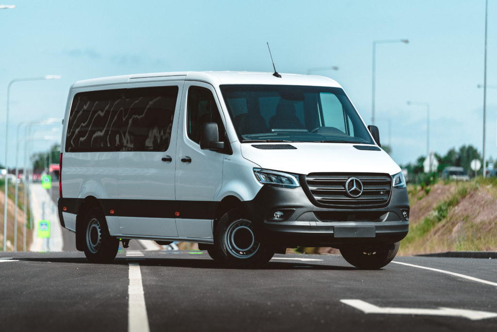hyötyajoneuvot Mercedes-Benz Streetline 316