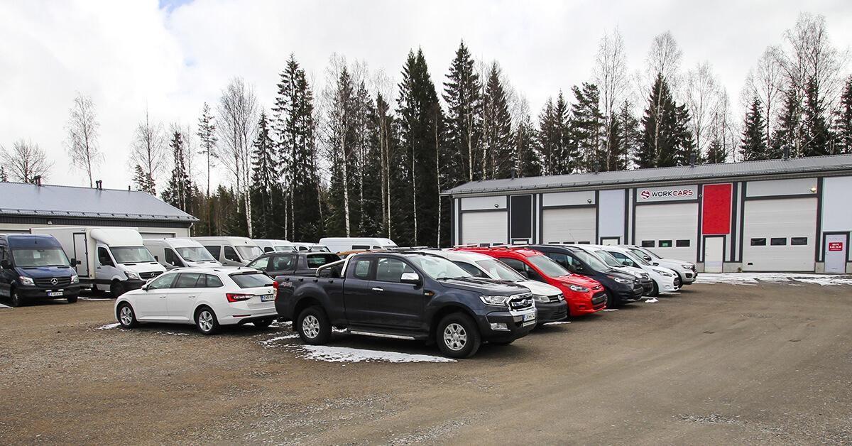 Work Cars Metsäpellontie 4