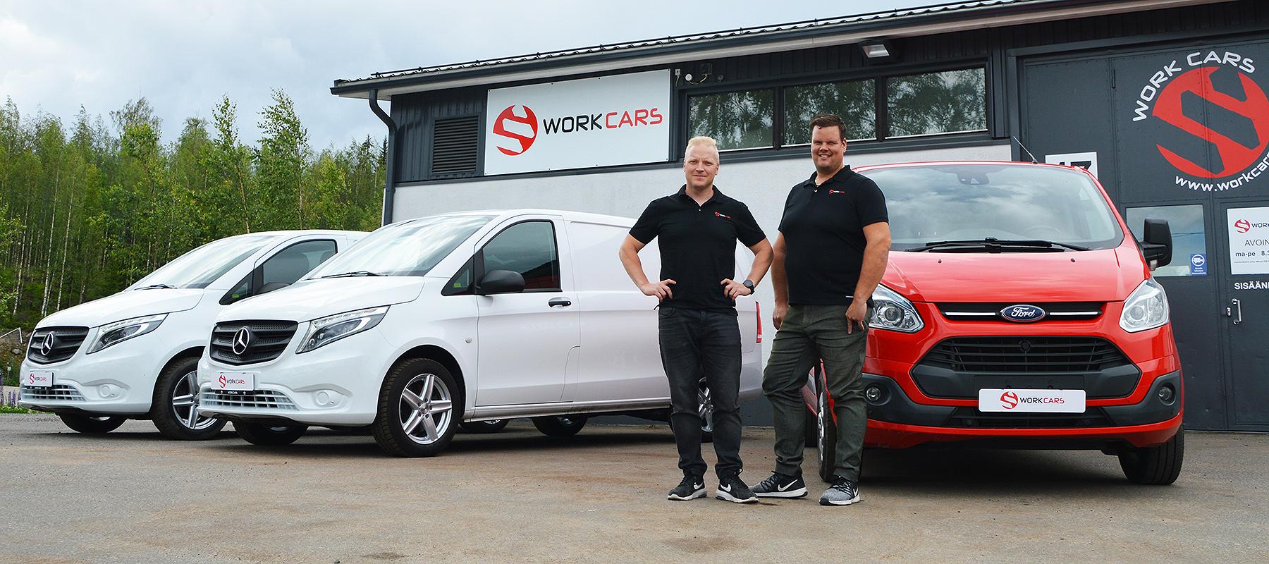 hyötyajoneuvot Work Cars Oy