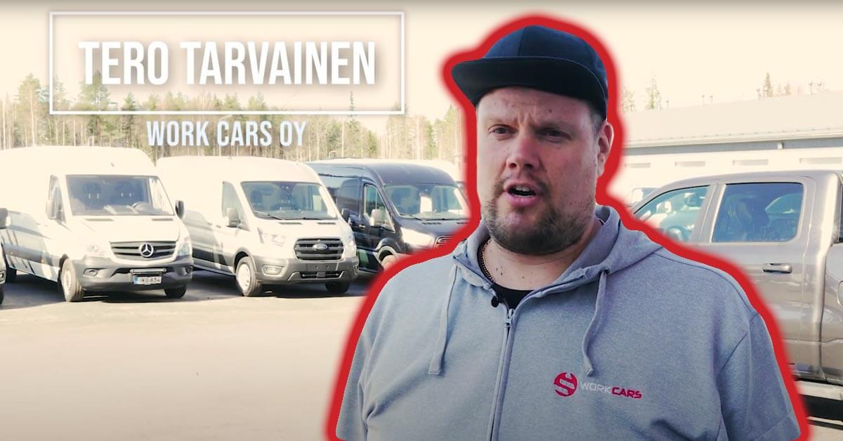 Jenkki lava-autot on yksi korona-ajan lapsista Work Carsilla